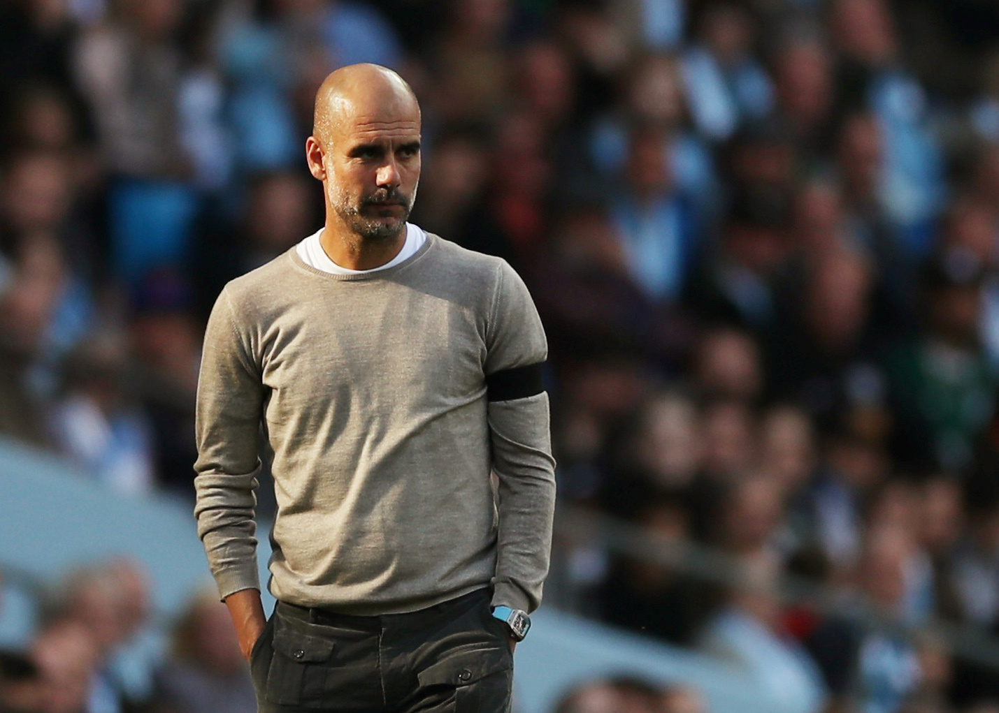 Guardiola expresses that his challenge at man city is over