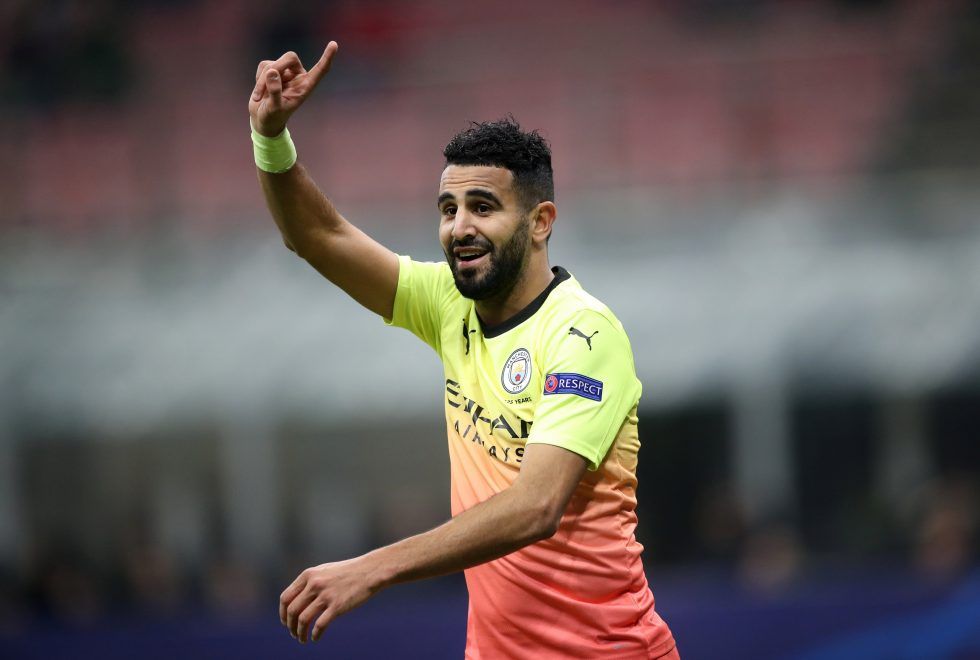 Riyad Mahrez accidentally reveals two stars will leave Manchester City in summer