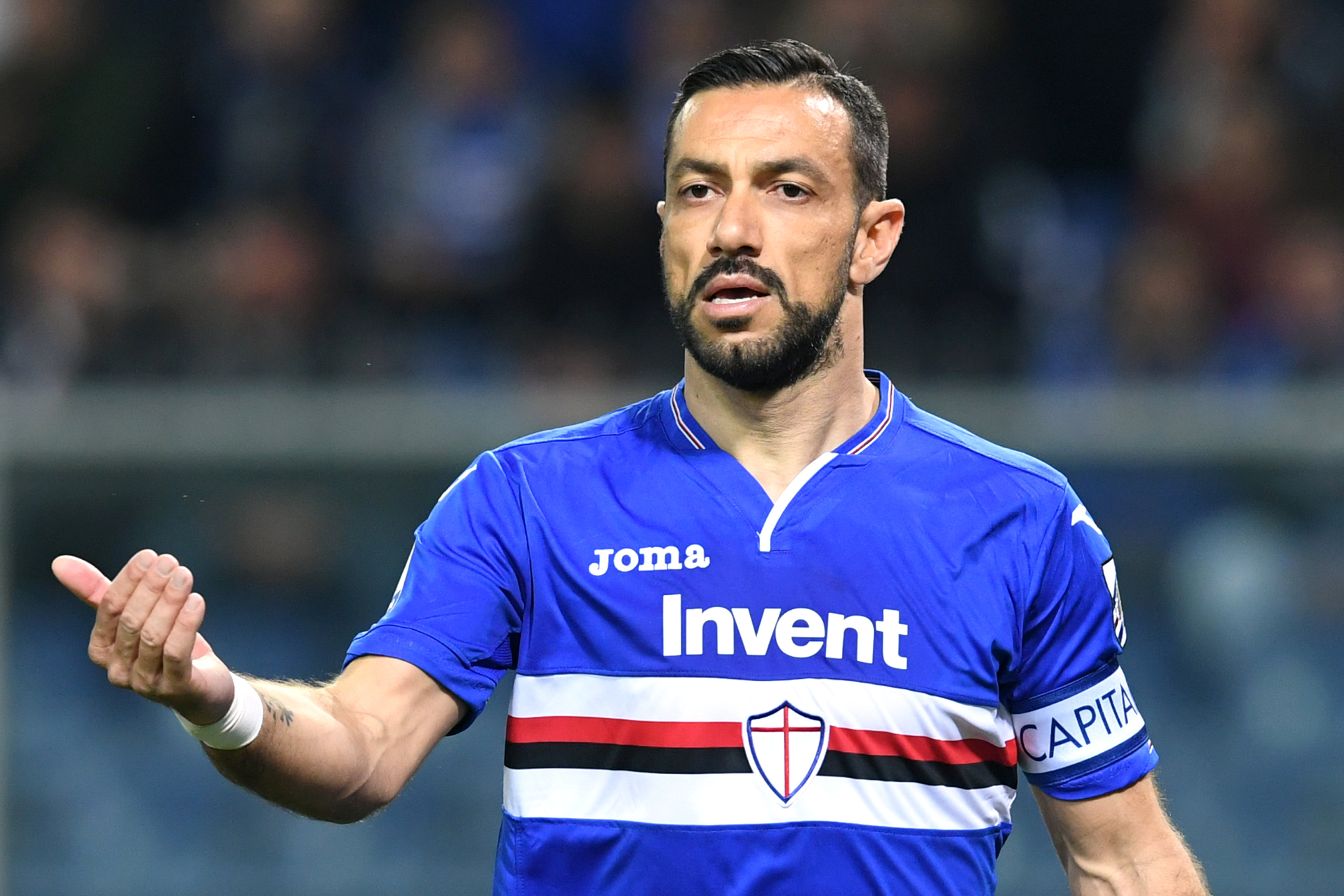 OFFICIAL: Veteran striker Fabio Quagliarella signs new Sampdoria deal