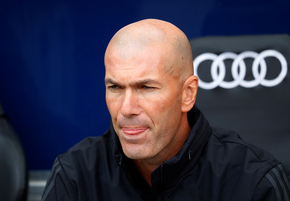 Zidane warns Barcelona that they have their own weapons