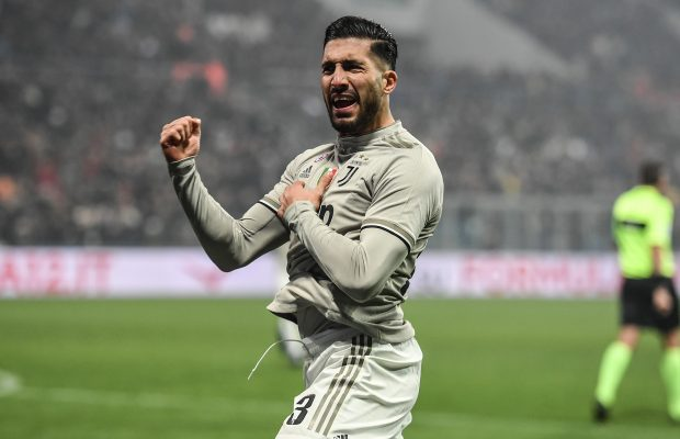 Carlo Ancelotti's side Everton bid for Juventus want-away midfielder Emre Can