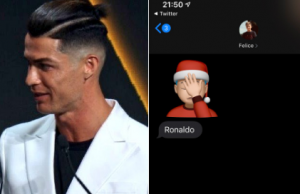 Cristiano Ronaldo's controversial new hairstyle - Social media reacts!