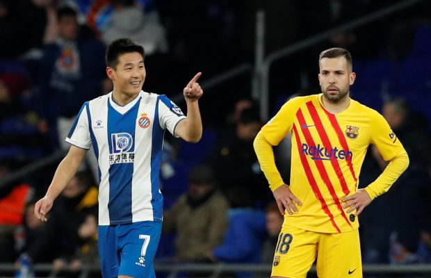 Espanyol golden sub Wu Lei makes history for China against Barcelona