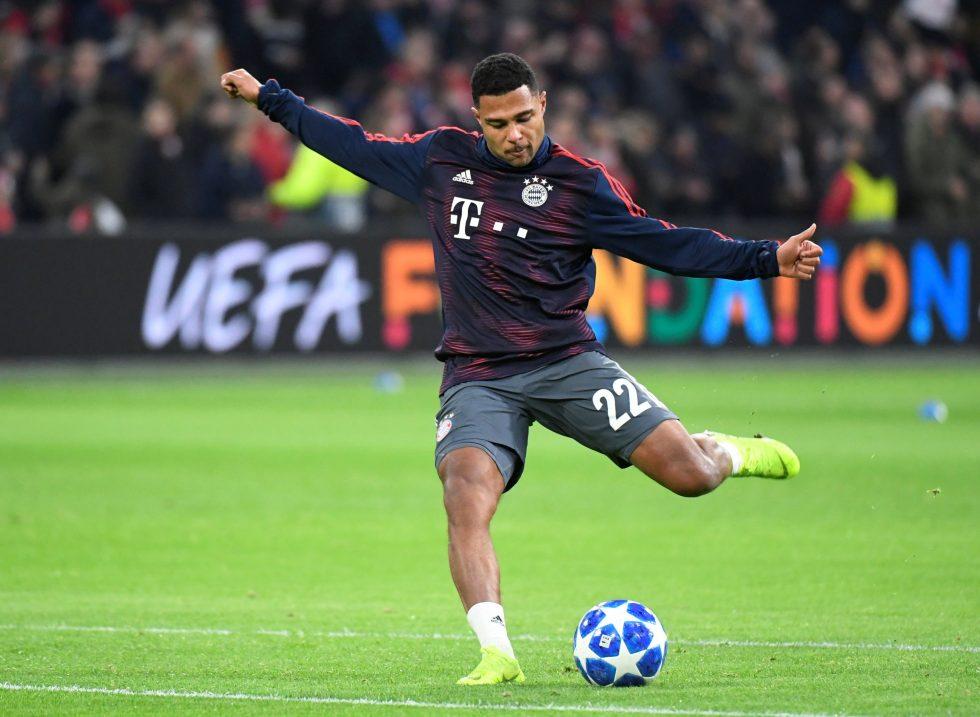Former Arsenal flop Serge Gnabry suffers Achilles injury for Bayern Munich