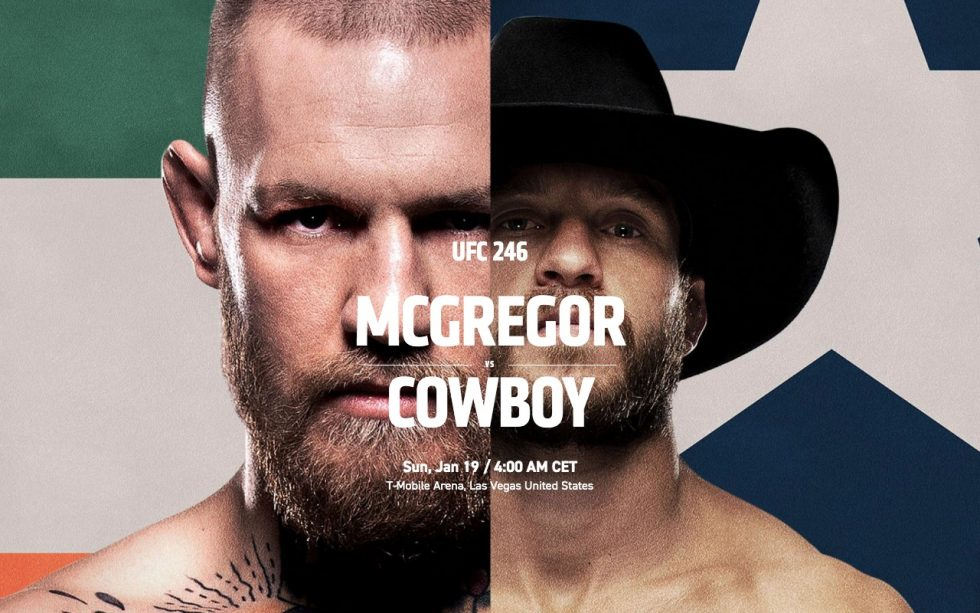 How To Watch Conor Mcgregor vs Donald Cerrone Fight Tonight - UFC 246 Live Online!