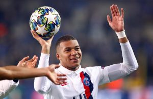 Kylian Mbappe's hilarious handball goal for Paris Saint-Germain - VIDEO