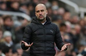 Pep Guardiola is careful about Laporte