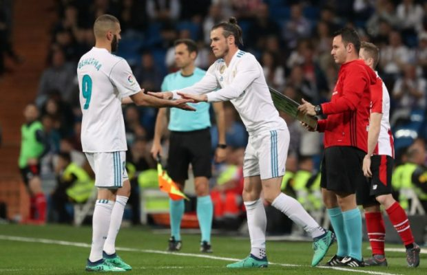 Real Madrid duo Bale & Benzema sidelined ahead of Spanish Super Cup