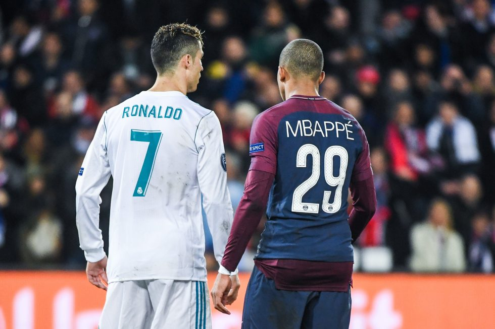 Cristiano Ronaldo Hails Kylian Mbappe As The Present And Future Of Football