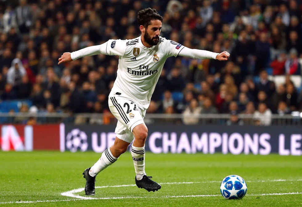 Spanish midfielder Isco has scored 50 goals for Real Madrid