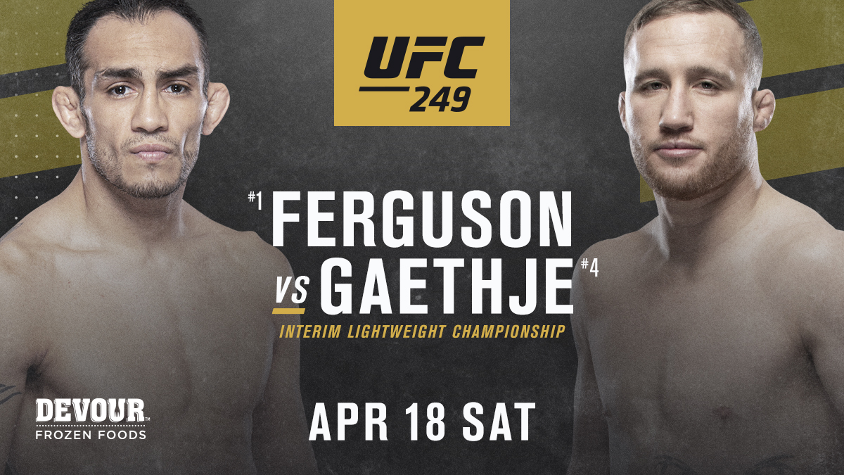 UFC 249 Prize Money