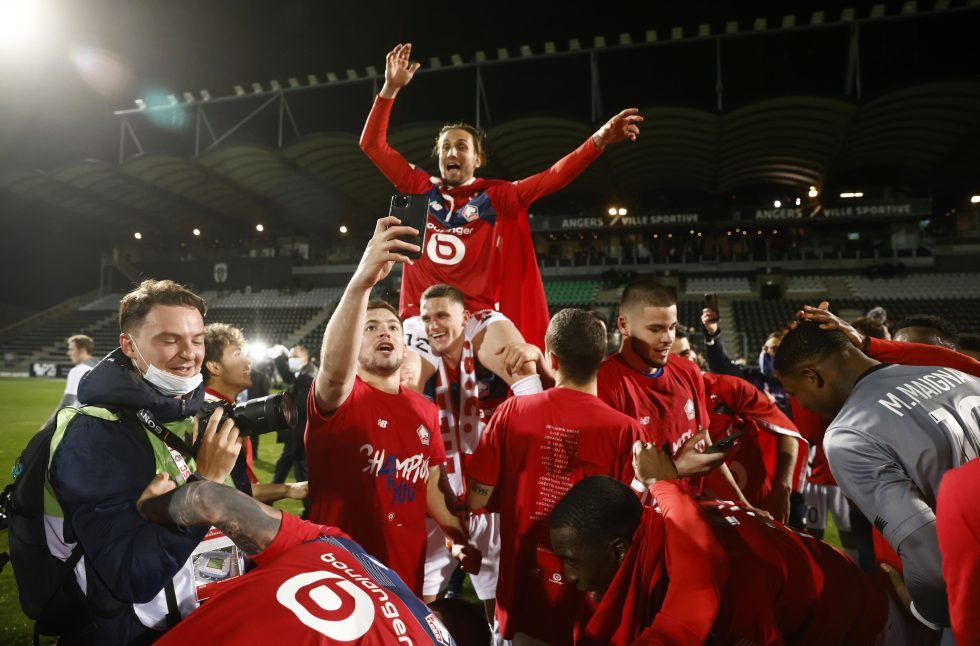 Winner of French Ligue 1 2021
