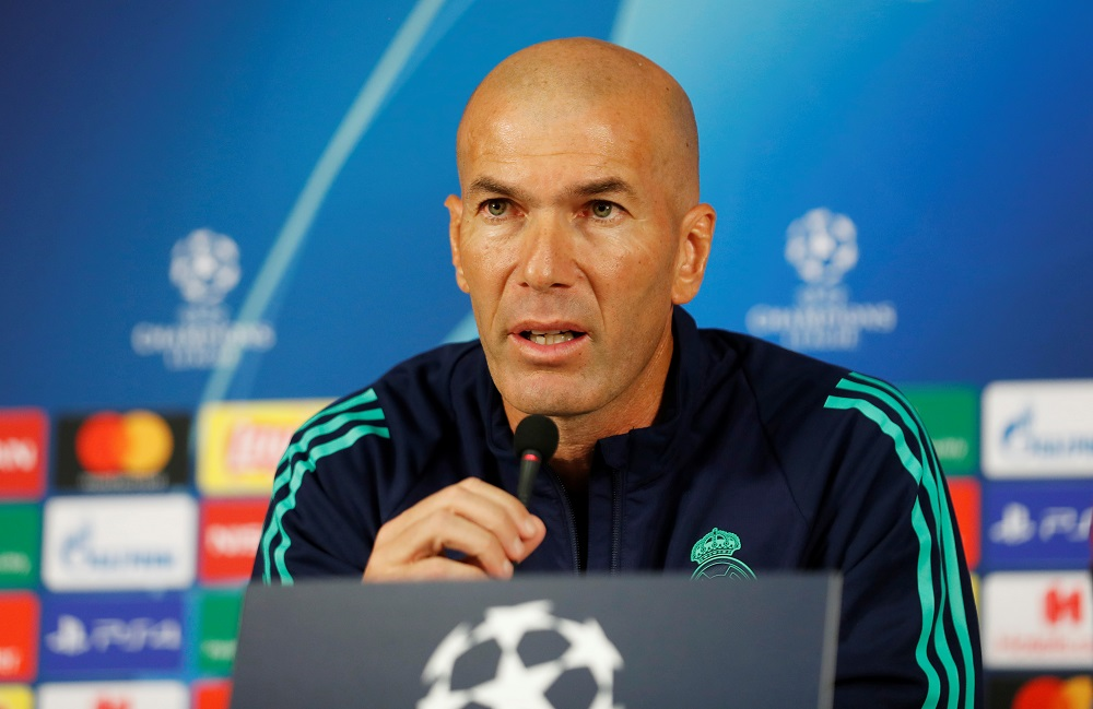 Zidane pleased with players after first week of training