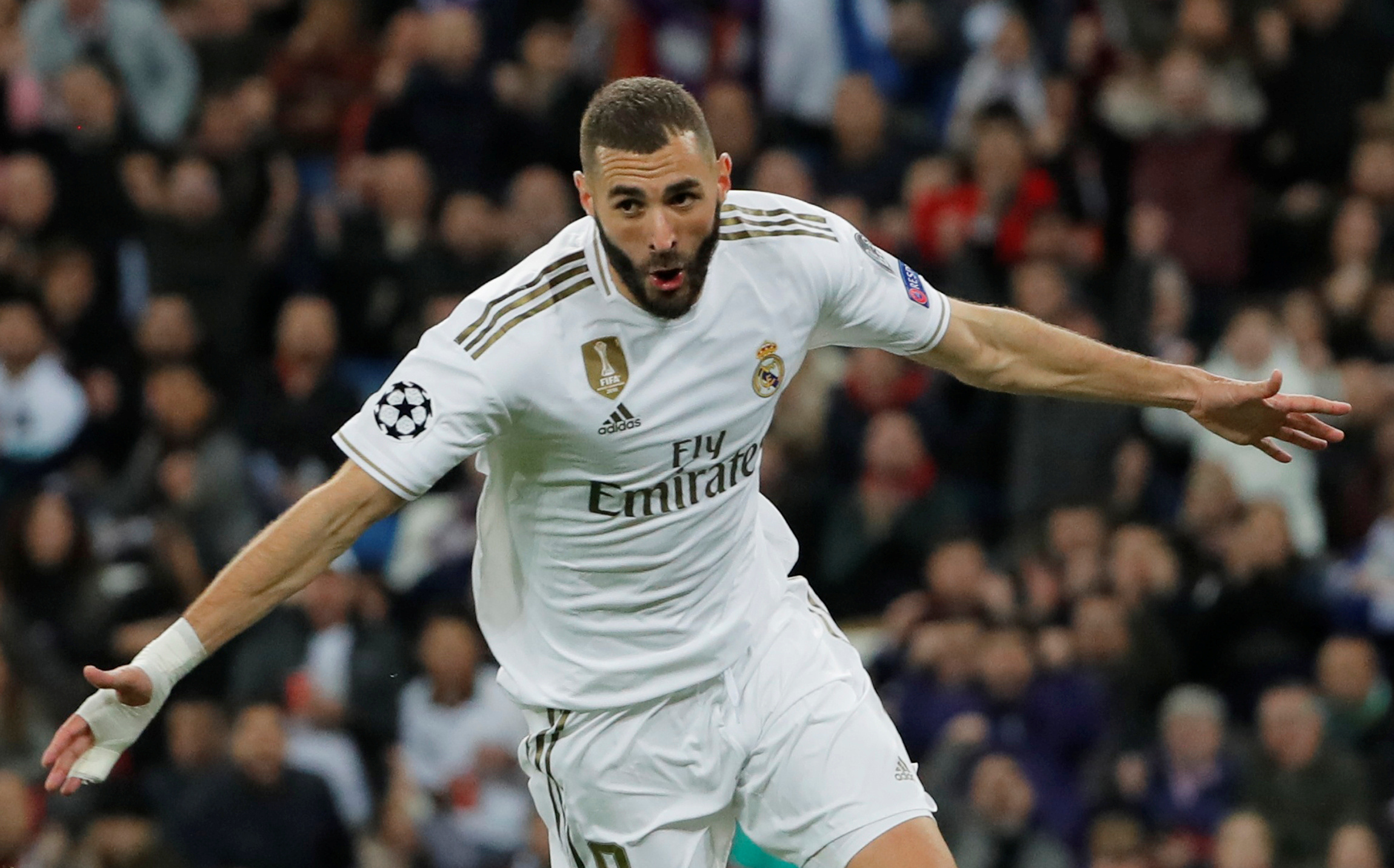 Benzema's backheel assist is one of the plays of this season - Zidane