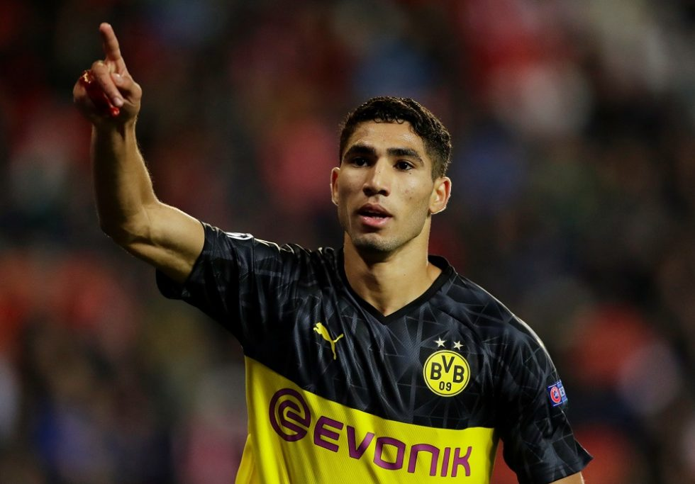 Hakimi closing in on Inter switch