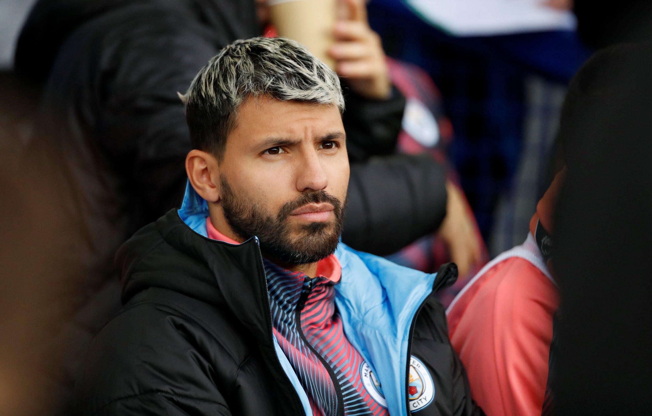 Man City fears long Aguero absence ahead of crucial games