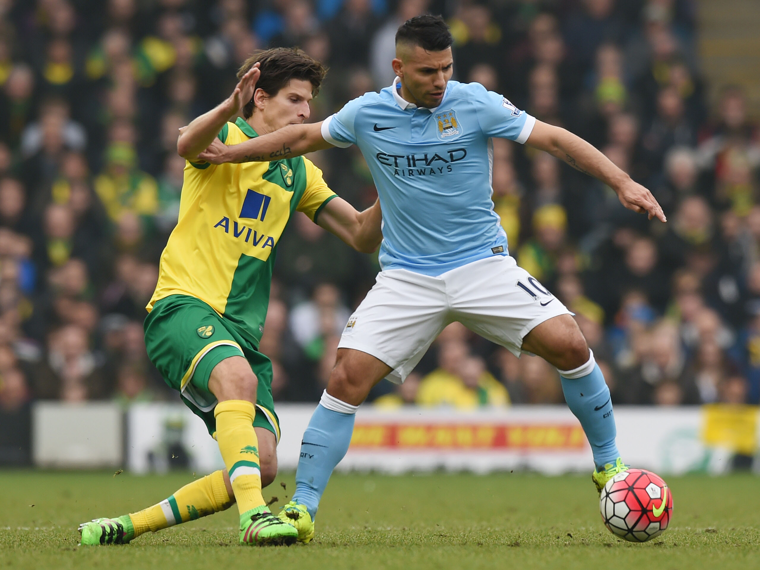 Manchester City vs Norwich City Head To Head