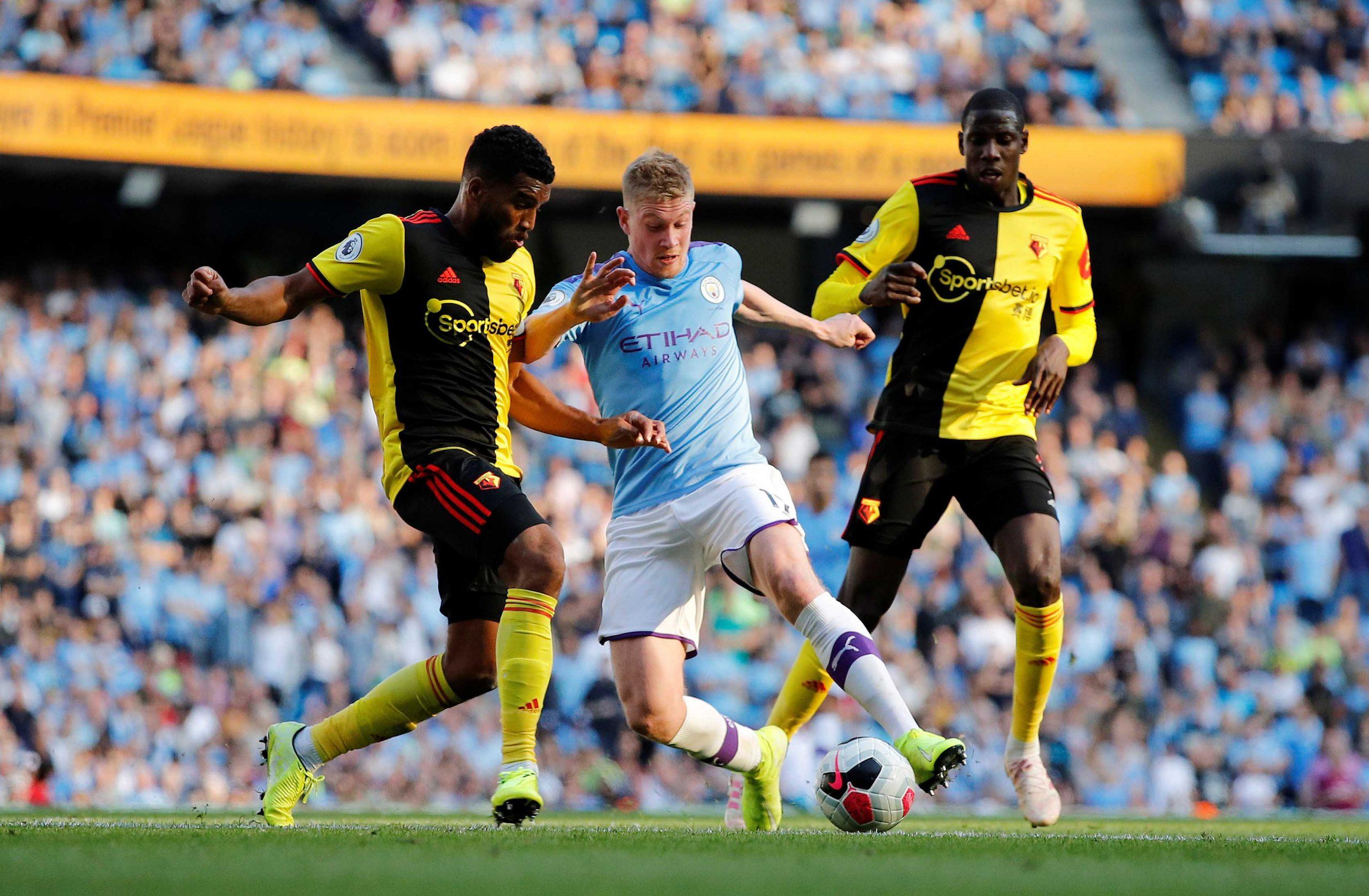 Manchester City vs Watford Head to Head