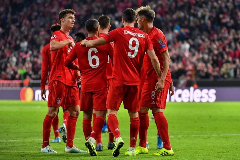 Bayern Munich vs PSG lineup