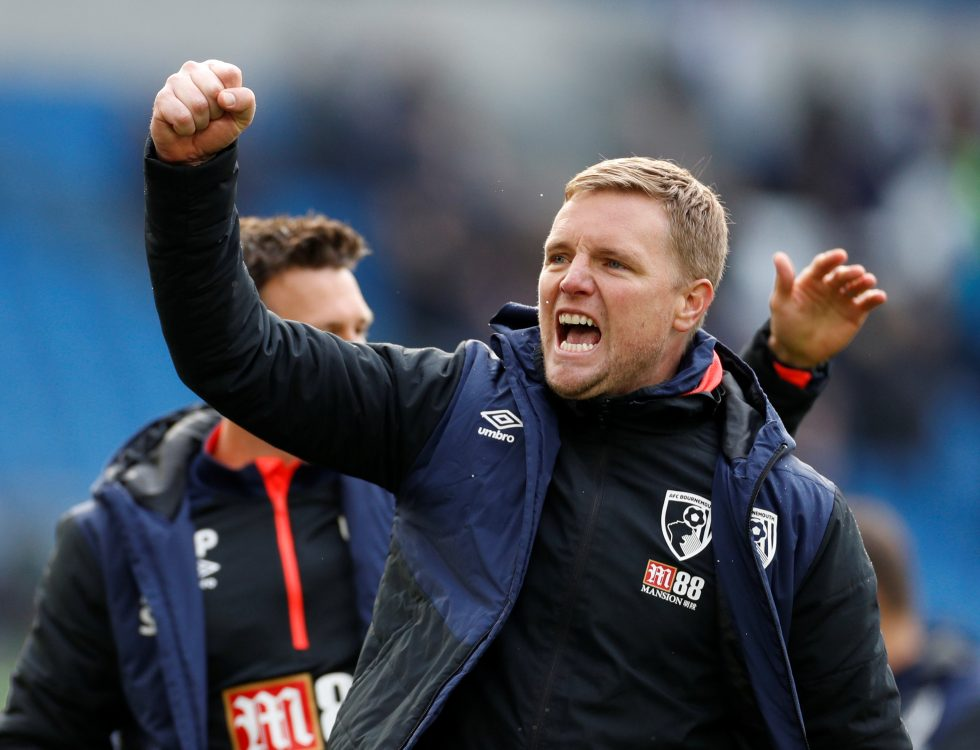 Eddie Howe departs Bournemouth by mutual consent