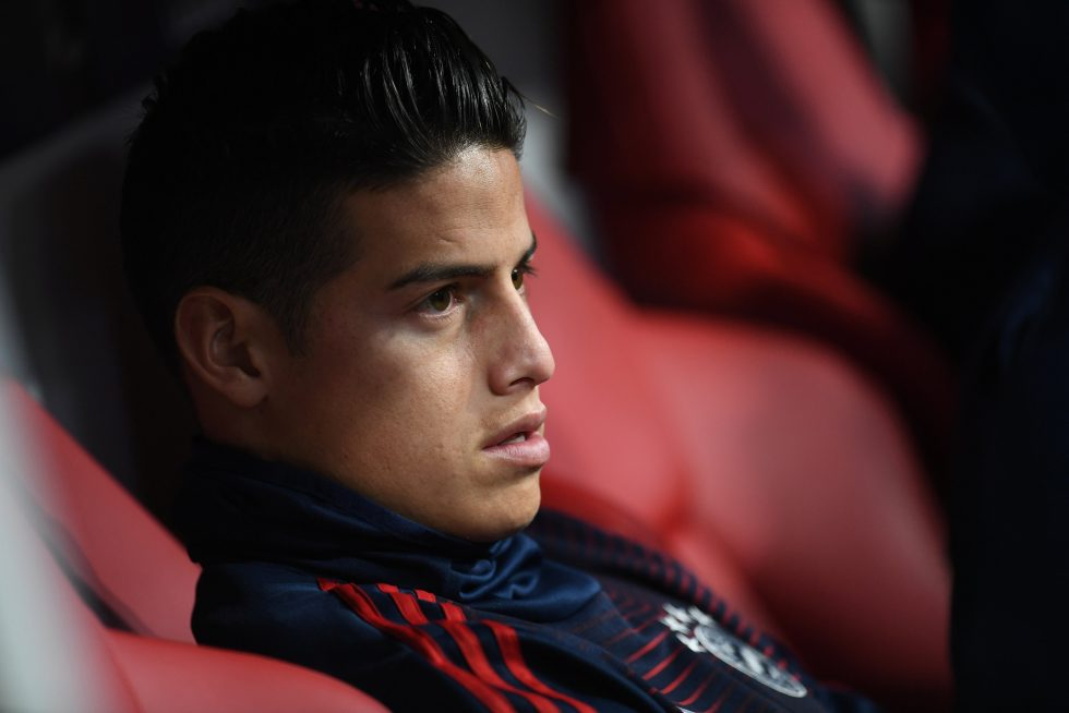 James Rodriguez hits out at Real Madrid for blocking his move