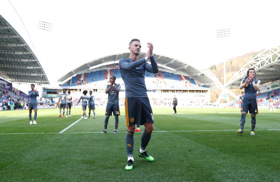 Maddison signs 4-year extension at Leicester