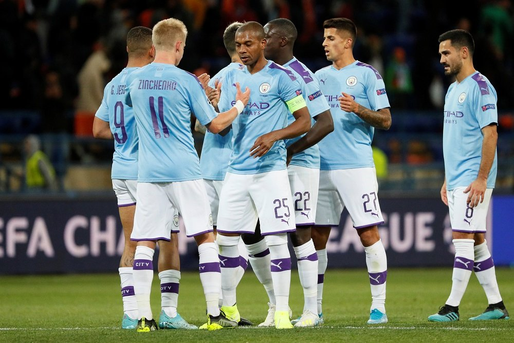 Manchester City predicted line up vs Lyon