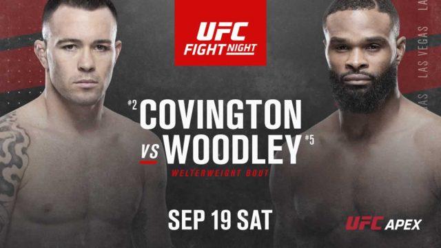 UFC Fight Night 178 Live Stream Free Covington vs Woodley UFC Fight Streaming Free!