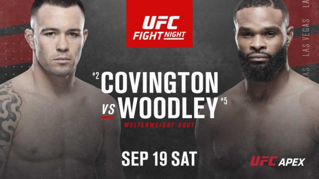 UFC Fight Night 178 Odds Covington vs Woodley Betting Odds & Tips!