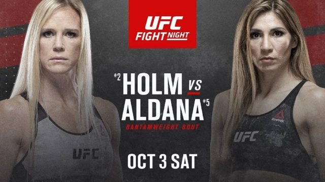 UFC on ESPN 16 Date, Time, Location, PPV When Is Holm vs Aldana