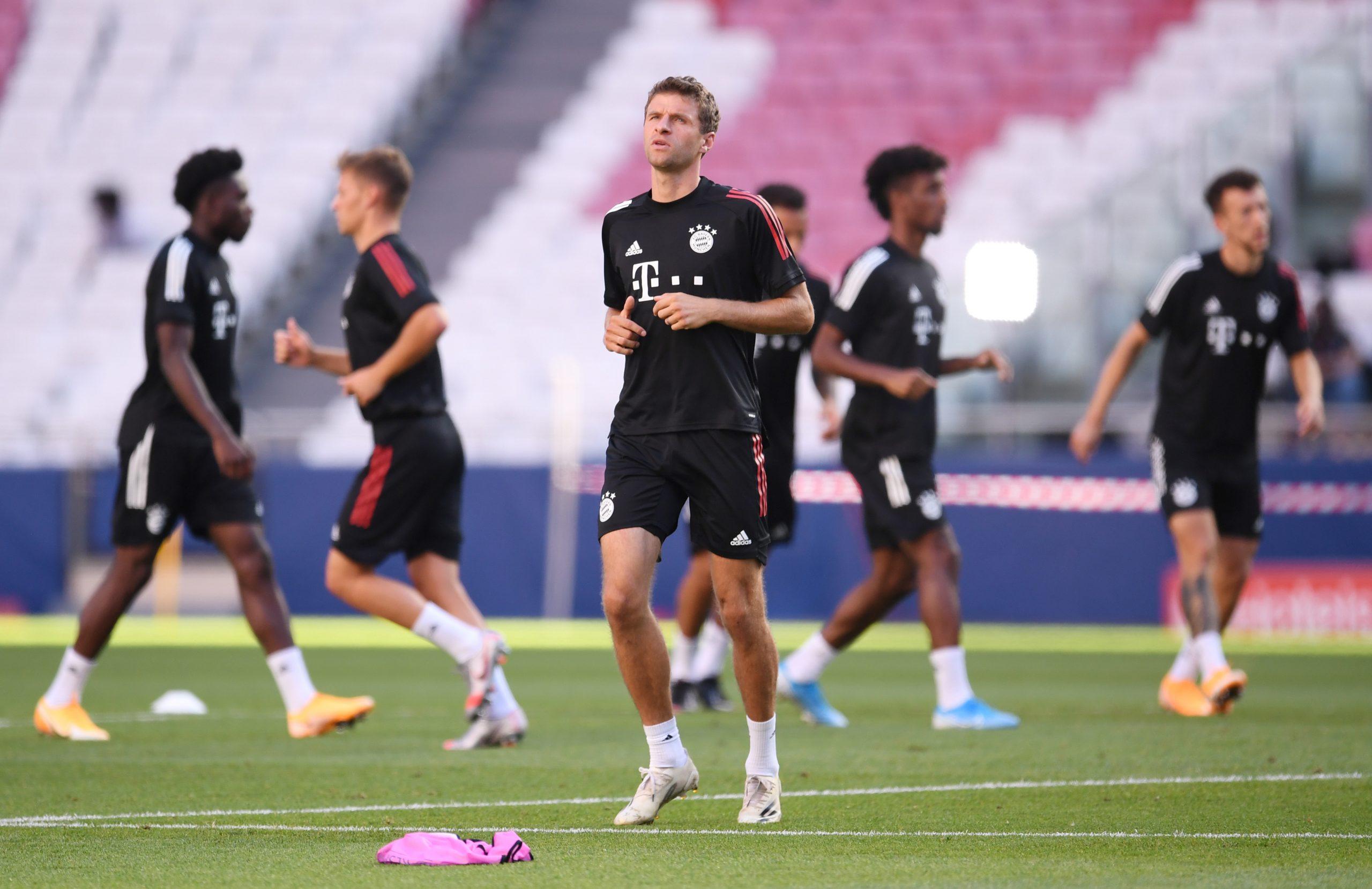 Bayern Munich Predicted Line Up vs Atletico Madrid