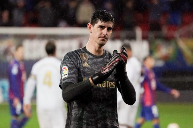 Courtois backing Real Madrid to win the Champions League