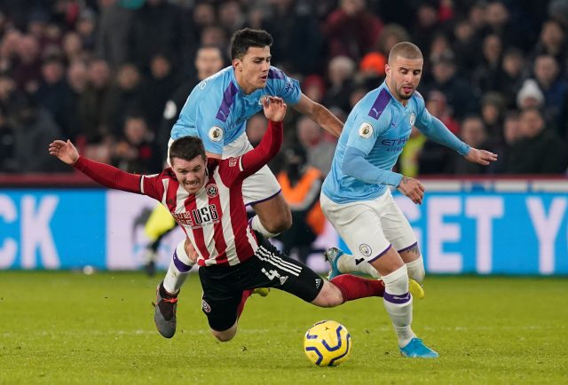 Manchester City vs Sheffield United Head To Head Results & Records (H2H)