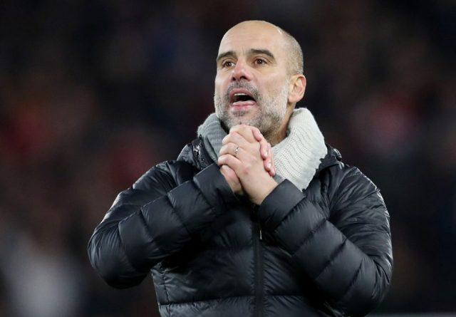Manchester boss Pep Guardiola sent a strong sack message