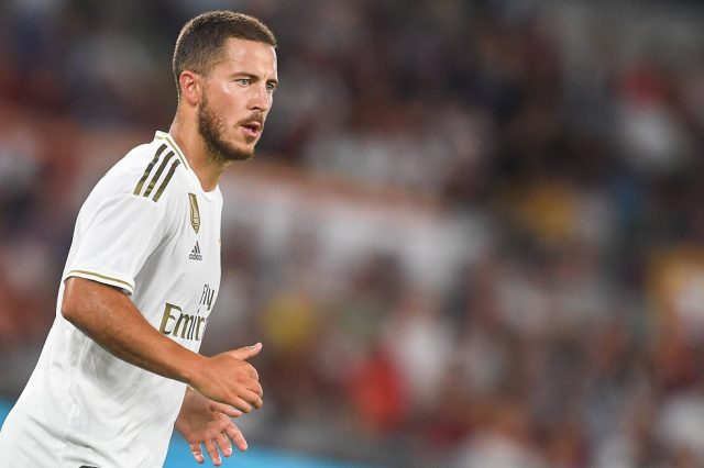 SITTING OUT: Hazard ruled out of yet another El Clasico