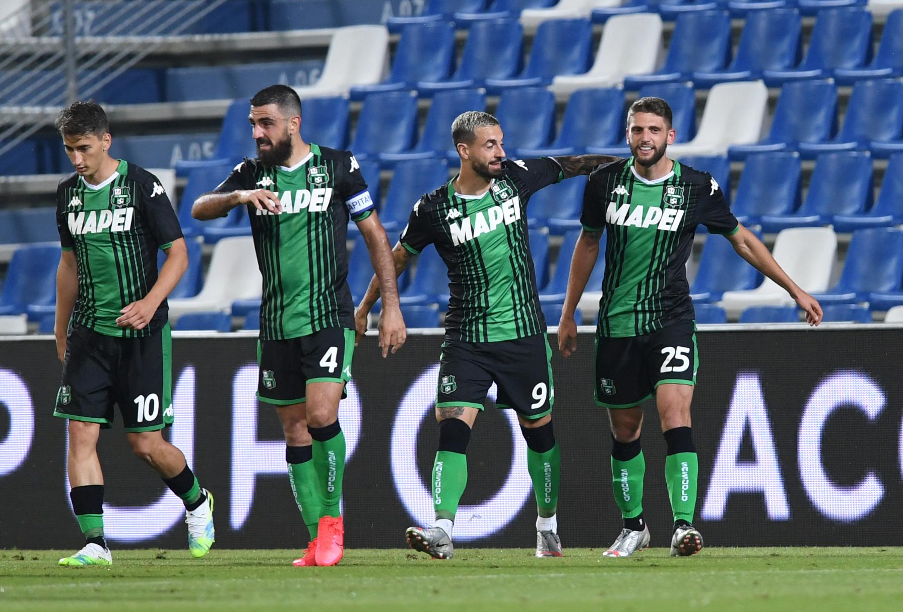 Sassuolo Calcio Players Salaries 2021