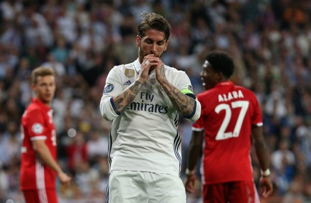 Sergio Ramos out of Madrid's CL clash against Shakhtar