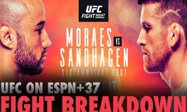 UFC Fight Night 179 Odds Moraes vs Sandhagen Betting Odds & Tips!