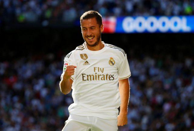 Eden Hazard Finally Scores For Real Madrid After 392 Days