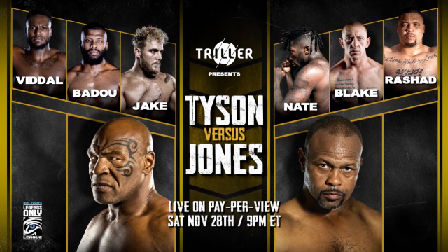 Mike Tyson vs Roy Jones Jr What Time is the Match - Date, Time, Start time