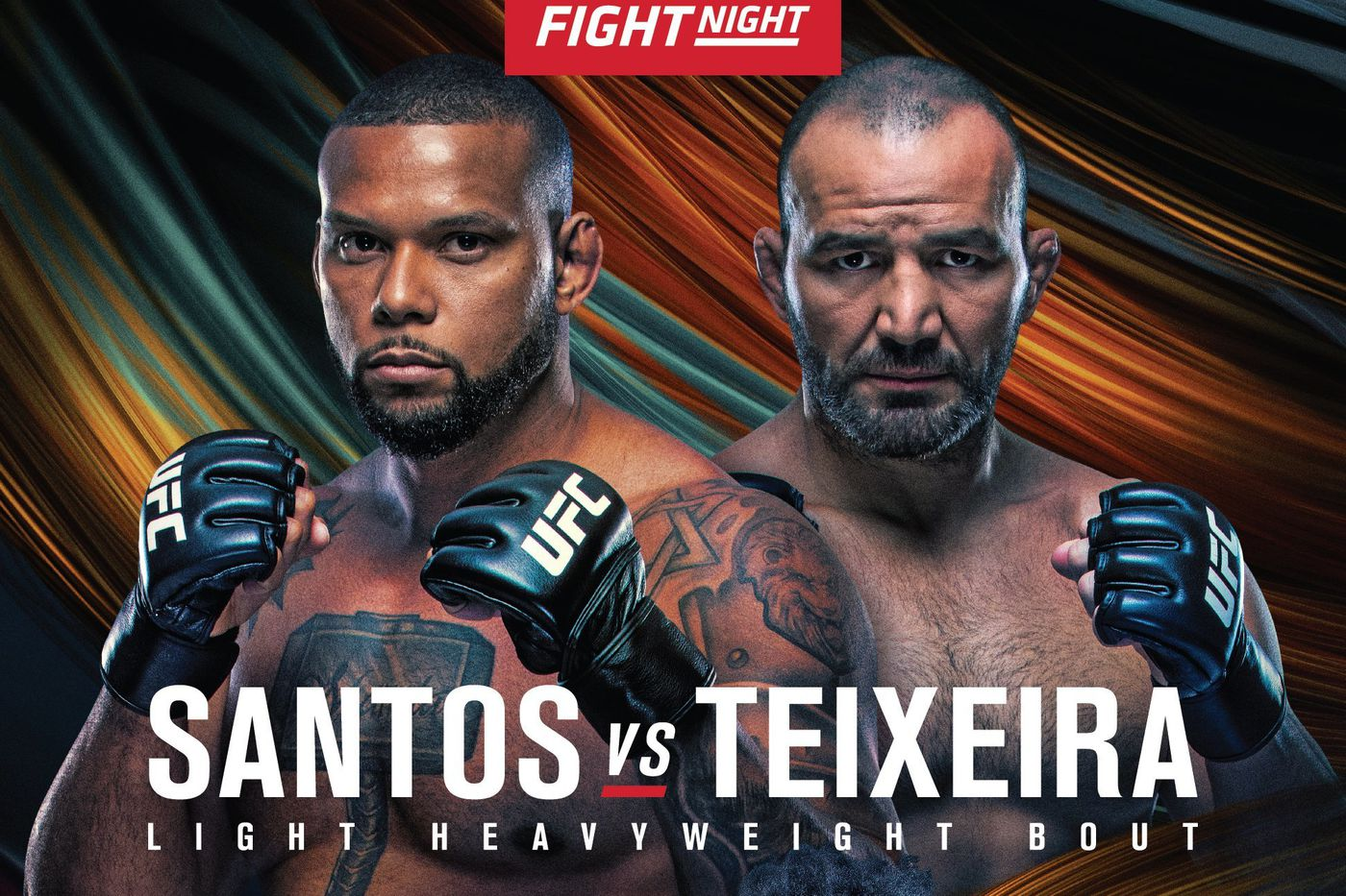 Watch UFC Fight Night 182: Santos Vs. Teixeira 11/7/20
