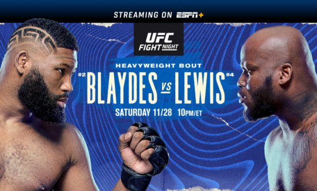 UFC on ESPN 18 Date, Time, Location, PPV When Is Blaydes vs Lewis