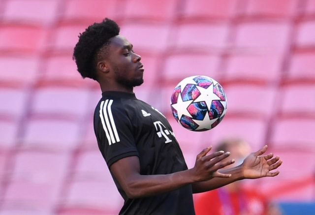 Alphonso Davies Returning To Action For Bayern