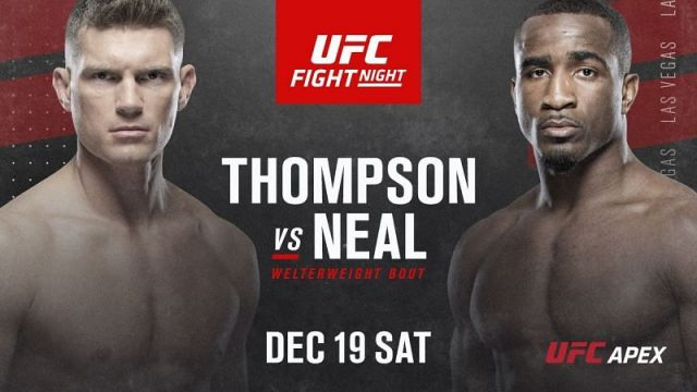UFC Fight Night 183 Odds Thompson vs Neal Betting Odds & Tips!