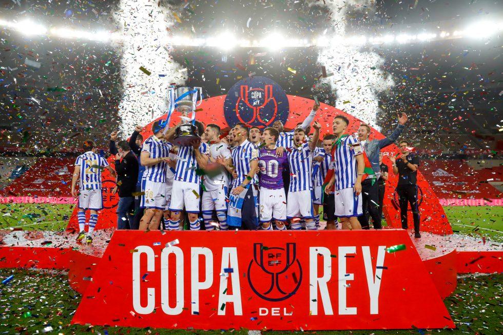 2020 Copa del Rey Winners - Real Sociedad
