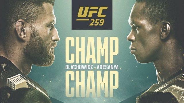 UFC 259 Odds Blachowicz vs. Adesanya Odds & Betting Tips!