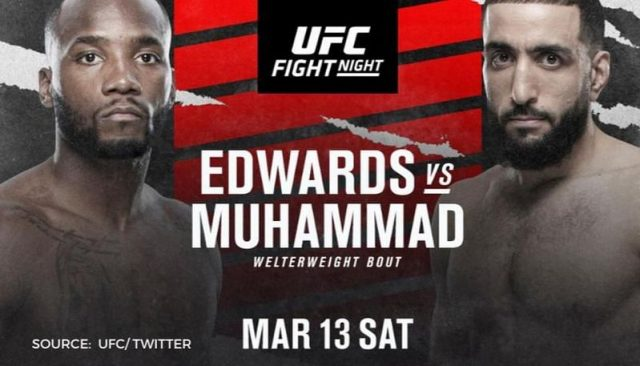 UFC Fight Night 187 Date, Time, Location, PPV When Is Edwards vs. Muhammad