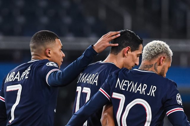 PSG vs Manchester City Head To Head Results & Records (H2H)
