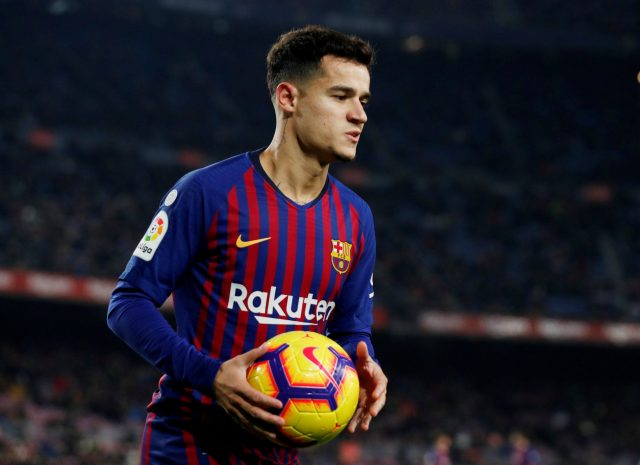 Philippe Coutinho Head For Everton After Failed Barcelona Move