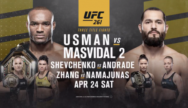 UFC 261 Odds Usman vs. Masvidal 2 Odds & Betting Tips!